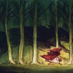 La cueva del lobo, y un bosque encantado